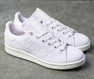 BNWT Adidas Stan Smith lilac brushed suede size 6 shoes