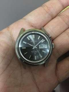 seiko bellmatic bell 27J 38mm black dial