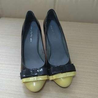 Comfort Two-tone Heels 舒服拼色高跟鞋