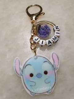 Stitch Keychain with customised name