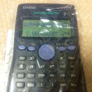 全新計數機 Casio 連盒, 大熒幕LCD, 慳電,耐用 NEW Scientific Calculator