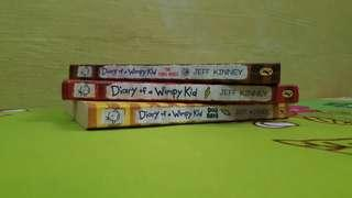 *USED* Diary of a Wimpy Kid (Set)