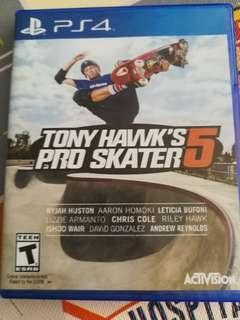 PS4 Tony Hawk's Pro Skater 5