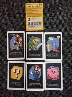 Nintendo 3DS AR Cards