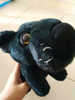 Black panther super cute soft toys