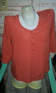 option 3/4 blouse
