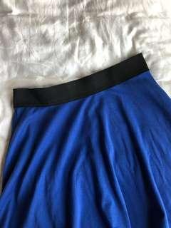 Nichii Blue Skater Skirt