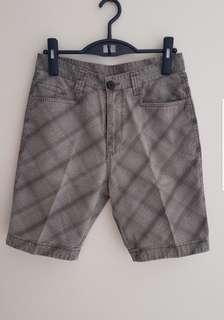Checkered/Plaid Bermudas Shorts