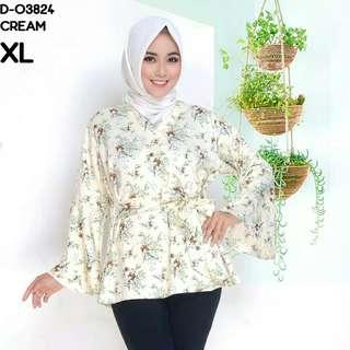 Preloved kimono blouse