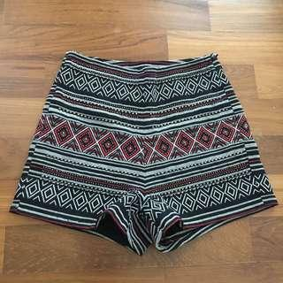 H&M Aztec Shorts #FEBP55