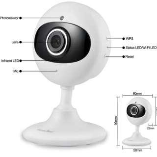 2174 Wansview Wireless IP HD Camera, Home WiFi Security Surveillance Camera for Baby/Elder/Pet/Nanny Monitor with Night Vision and Two Way Audio K2 (White)