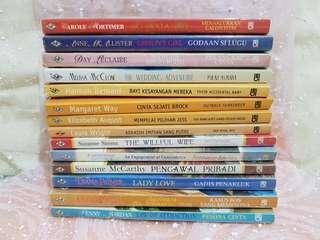 Novel Harlequin ada 14 judul