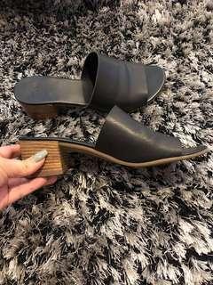 ASOS Black Mules