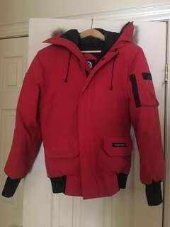 Authentic Red Canada Goose jacket XS