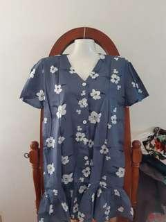 Hawaiian Blue Dress