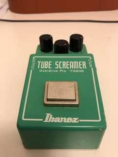 Ts808 ibanez tube screamer overdrive