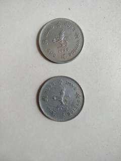Hong Kong $1 coin