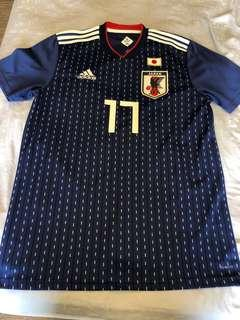 c180f1e9c WTS Japan World Cup 2018 Home Jersey with Hasebe Nameset Size M