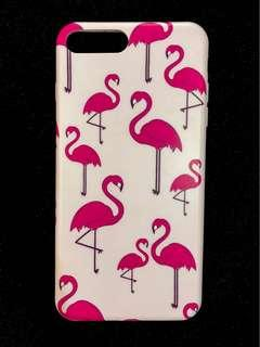 Jelly Case Flamingo for iPhone 7 Plus