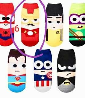 🚚 Superhero cute ankle Socks