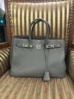 🚚 Hermes Birkin 35 prelove boutique quality