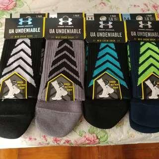 Under Armour 籃球襪(每對)