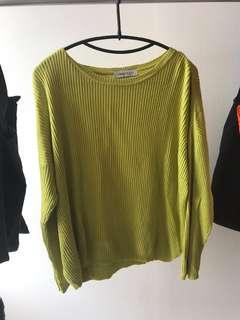 Sweater Rajut Warna Neon