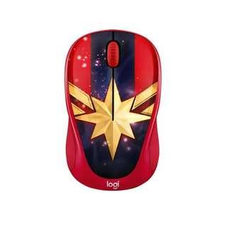 Captain Marvel Movie Opening Special SALE! RARE and HOT! Logitech Licensed M238 MARVEL Wireless Mouse - Captain Marvel (910-005562)