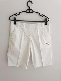 Puma Golf White Bermudas Shorts