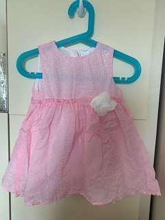 Baby girl dress 連身裙 size 80