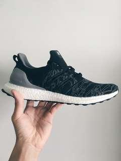 reputable site 6486c 6b378 Undefeated Ultra Boost Utility Black