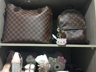 🚚 Louis Vuitton Neverfull And palm spring