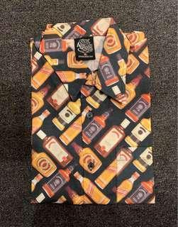 Liquor printed short sleeve shirt