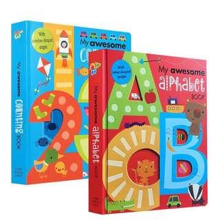 In stock free delivery My awesome Alphabet and numbers 2 in 1