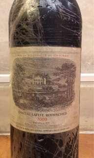 Chateau Lafite Rothschild Pauillac 1er Cur 2000, Bordeaux, France