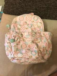50蚊2個 小童背包 Hello Kitty Backpack