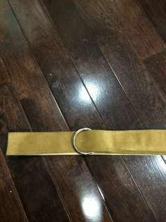 Swede Leather Belt