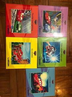 Cars story books x 5