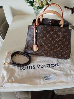 🚚 Authentic Louis Vuitton Montaigne MM