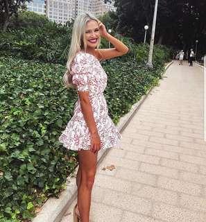 Kookai Sullivan one shoulder dress