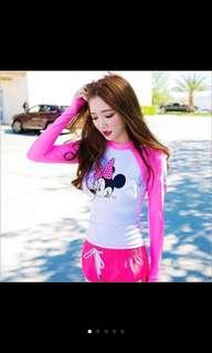 In Stock 💕Korean version of UV Rash Guard,  Swimsuit, Swimwear, Beach Wear, Sport wear