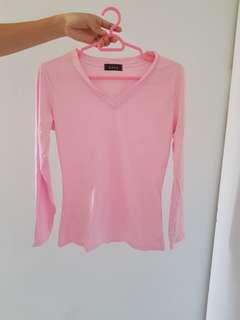 Brand new pink top