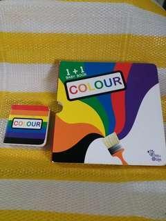 1+1 baby book colour