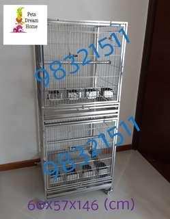 HOKAPET Stainless Steel Cage