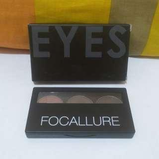 Focallure brows powder palet nomor 1