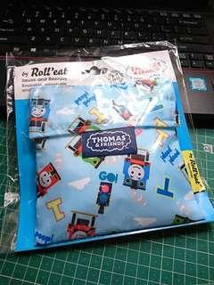 Brand new Thomas & friends eco wrap bag (BPA free)  with cookies 全新可重用環保食物袋