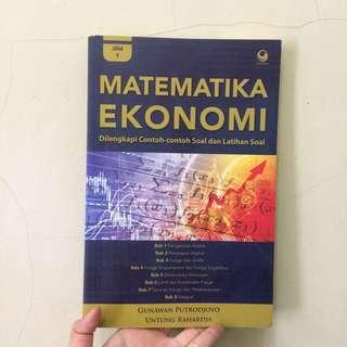 Buku Matematika Ekonomi