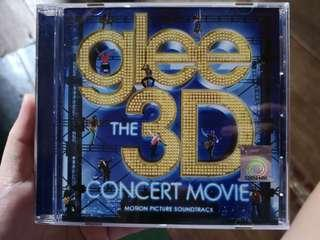CD GLEE The 3D Concert Movie