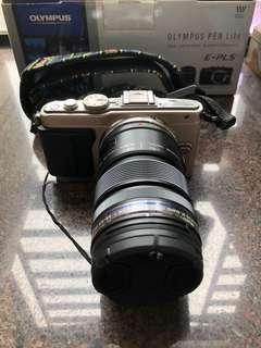 新淨 Olympus EPL-5 連 12-50mm 鏡 (EPL5, M43, 全套配件 ,盒 ,單齊)