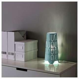 2 unit Ikea side table light